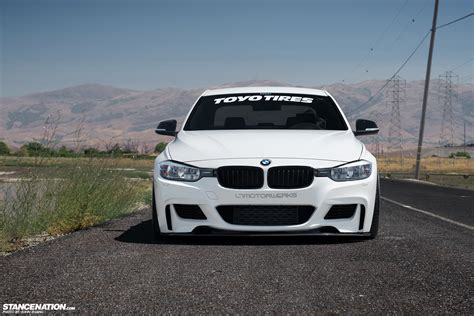 stancenation bmw coast to coast courtney s aggressive bmw f30