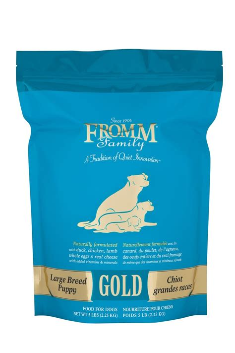 fromm large breed puppy food fromm food gold large breed puppy feed