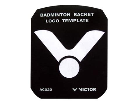 Raket Victor Sw 37 logo stencil ac020 aksesoris raket produk victor