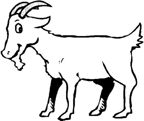 line drawing of a goat clipart best a s activities