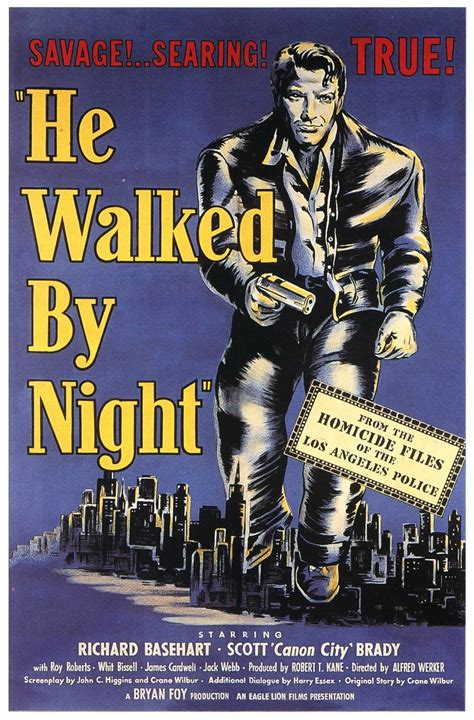 he walked by night 1948 film noir thriller youtube una pagina de cine 1948 he walked by night orden caza