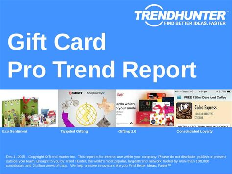 Gift Card Market Research - custom gift card trend report custom gift card market research