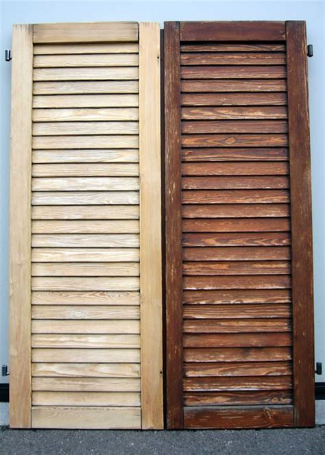 verniciatura persiane in legno verniciatura delle persiane in legno a 80 00 al metro