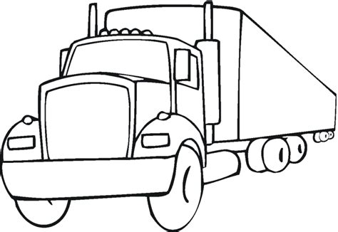 Semi Coloring Pages by Peterbilt Semi Truck Coloring Pages Coloring Pages