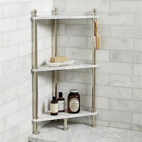 Marble Shelf Bathroom by White Marble Corner Bath Shelf
