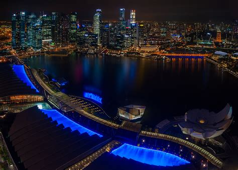 marina bay sands staycation singapore flyertalk forums singapur nocą