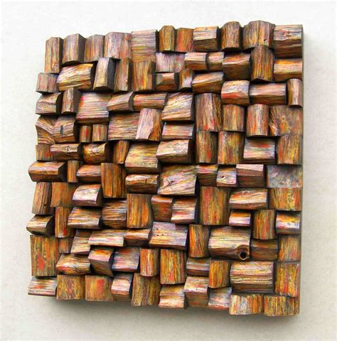design art wood about eccentricity of wood