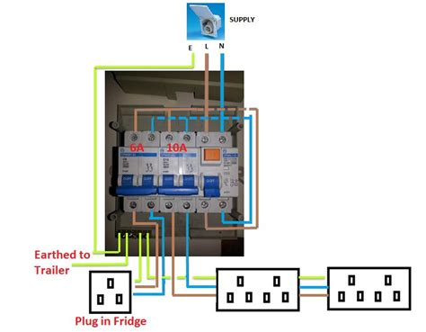 wiring diagram garage rcd unit wiring diagram with