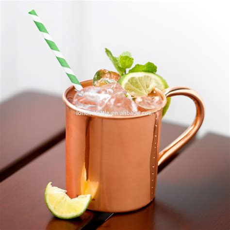 Moscow Mules 16 oz. Copper Moscow Mule Mug, 14oz Moscow ...