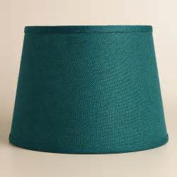 teal burlap table lshade table ls
