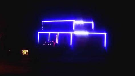 Halloween Light Show 2014 Weird Science Youtube Light Shows 2014