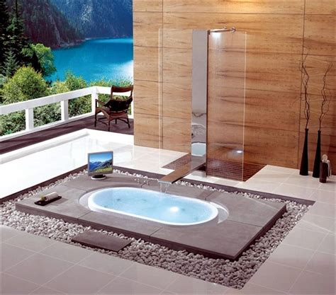 In Floor Bathtub by 25 Designs For Indoor And Outdoor Provide Spa Experience Interior Design Ideas