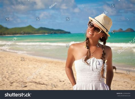 get true relaxation in the luxury cabins in smoky pretty cheerful woman relaxing at the luxury resort