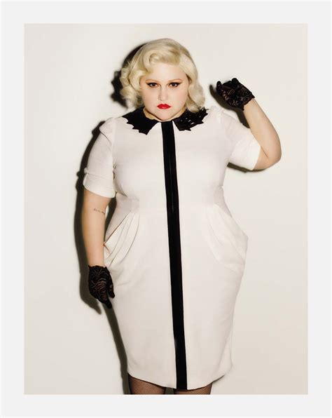 Beth Ditto Blames For Womens Poor Self Image by Beth Ditto Gt Positive Collection Fused Magazine