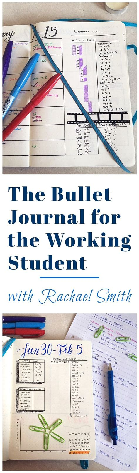 homework design journal the bullet journal for the working student with rachael