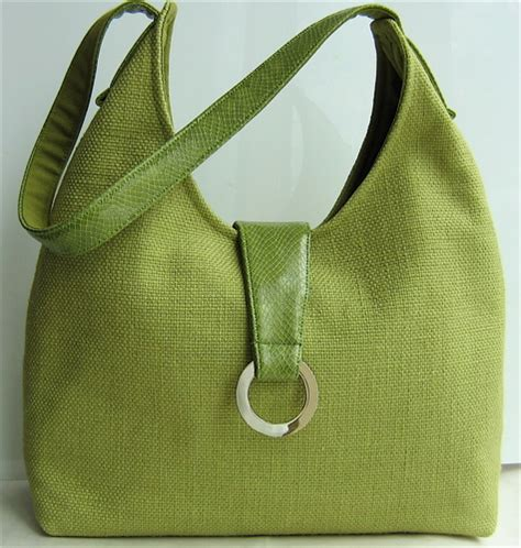 sewing pattern hobo bag granny apple green hobo bag sewing projects burdastyle com