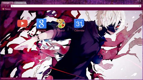 themes google chrome tokyo ghoul tokyo ghoul chrome theme themebeta