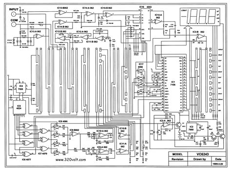 inductance meter ic lc meter circuit schematic images frompo