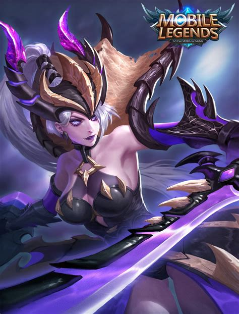 wallpaper hd mobile legend freya starlight march skin freya monster hunter mobile legends