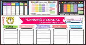 Calendario 2018 Semanal Planificador Semanal Colecci 243 N 2017 Gratis Para Imprimir