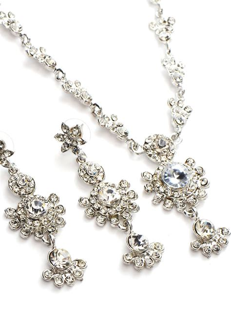 silver jewelry necklace and pendent set free wallpaper