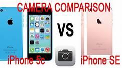 iPhone SE vs iPhone 5c/5 Camera Comparison (4K)