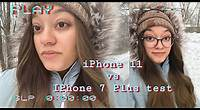 iphone 11 vs iPhone 7 plus video test