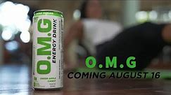 OMG ENERGY DRINKS LAUNCH AUGUST 16