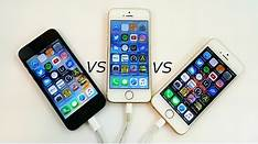 iPhone SE vs. iPhone 5c
