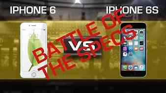 Battle of the Specs - iPhone 6S vs. iPhone 6 (CNET Prizefight)