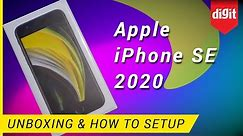 Apple iPhone SE 2020 Unboxing & How to Setup