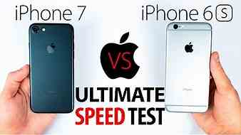 iPhone 7 VS 6S - The ULTIMATE SPEED Test!