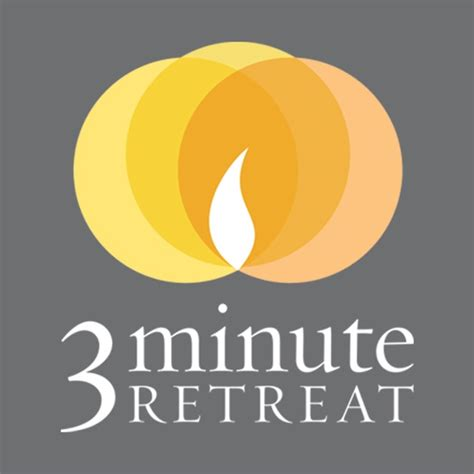 @   3-Minute Retreat On The App Store.