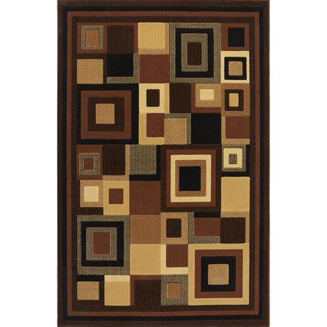 catalina black 3 ft x 5 ft indoor area rug - a33.