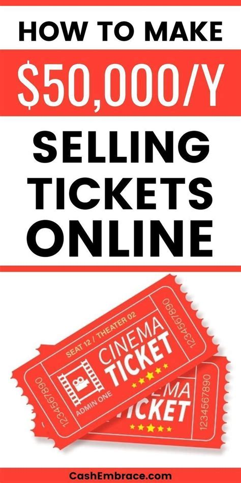 @   How To Become A Ticket Broker And Make Money From Home .