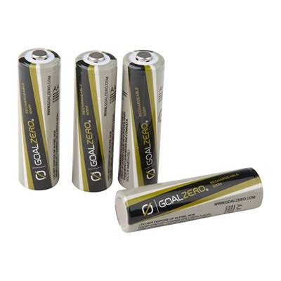 1sale goal zero - rechargable aa batteries - emergency .