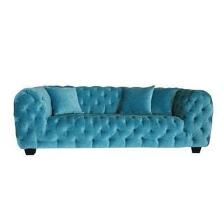 best prices casa milano collection velvet tufted sofa .