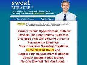 [click] Buy  Sweat Miracle Tm   1 Excessive Sweating Cure On .