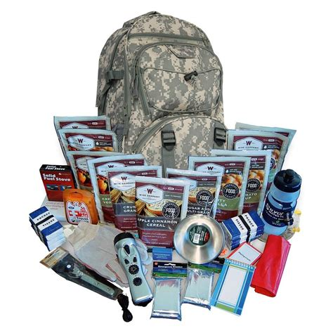buy 2 week essential survival backpack wise foods.