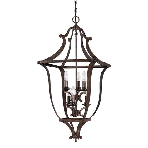 capital lighting corday 6-Light foyer pendant  reviews .