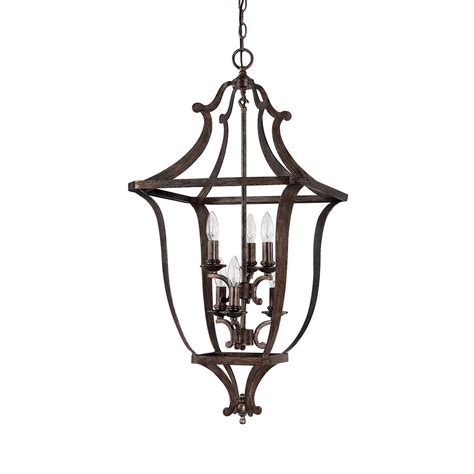 corday 6-Light foyer pendant by capital lighting  shop .