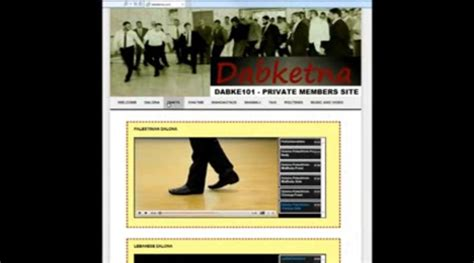 [click] Dabke 101 - Learn How To Dance Dabke - Video Dailymotion.