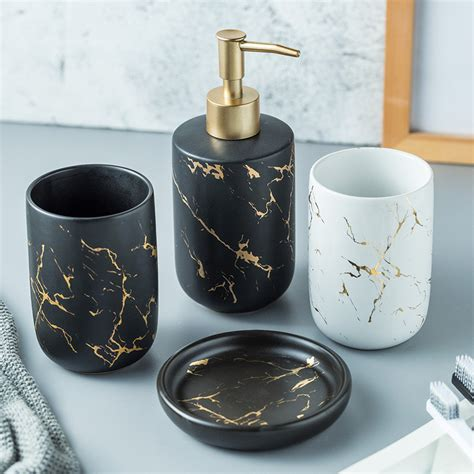 discount 3 piece bathroom accessory set .