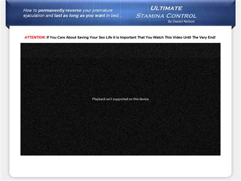 [click] Download Ultimate Stamina Control New 1 Premature .