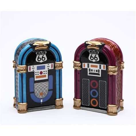 juke box salt and pepper set by cosmos gifts  shop free .