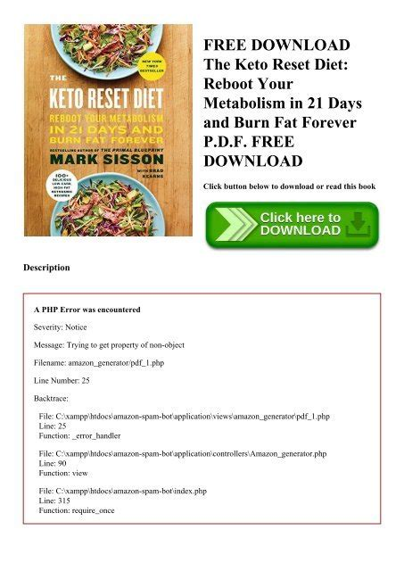 [click] Keto 21 Day Reset   Pdf Download .