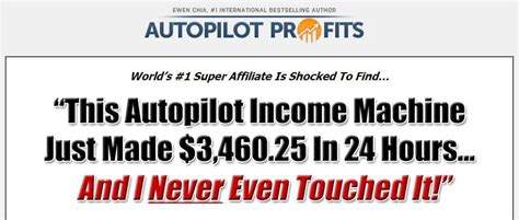 [click] Reviewed Ewen Chia  S Autopilot Profits   Complete Joke .