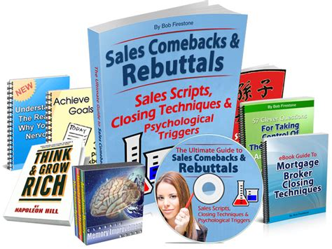 [click] Sales Rebuttals  Overcoming  - Closing Techniques.