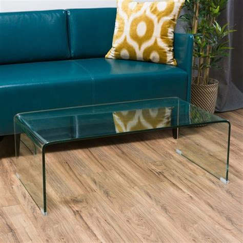 shop classon glass rectangle coffee table   on sale .