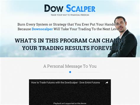 @  Sick Of Forex Try Dowscalper - Dow Emini Futures System .